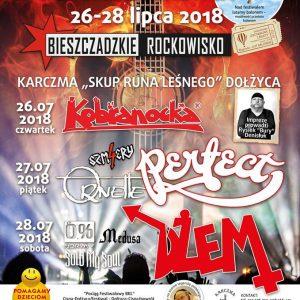 II Rock Festiwal w Bieszczadach 26-28.07 Dołżyce