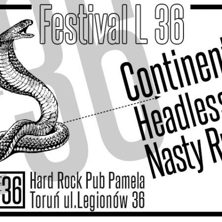 L 36 Festival @ Hard Rock Pub Pamela - Hrp Pamela LEGIONÓW 36, 87-100