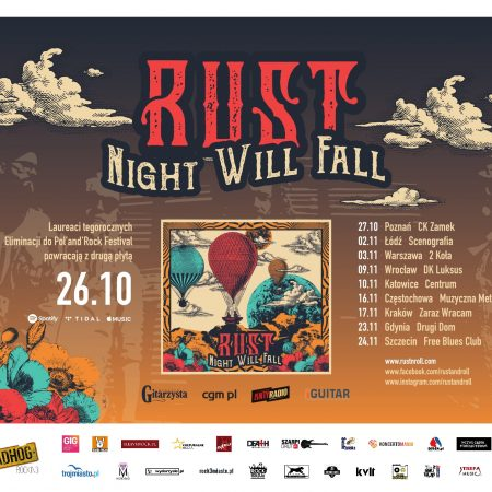 Koncert: RusT 'Night Will Fall Promo Tour'