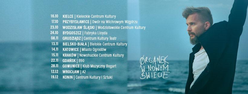 Ørganek zapowiada nową trasę koncertową - Ørganek w nowym świecie